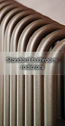 standard bathroom radiators