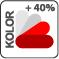 A RAL színskálában szereplő színekben rendelhető , felár 40%