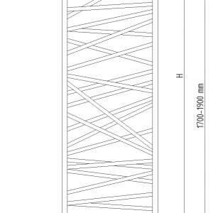 Spider Bis - rysunek techniczny
