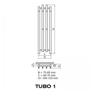 Tubo - rysunek techniczny
